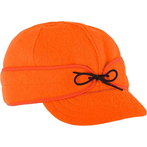 - Stormy Kromer Men's Orginial Cap, Blaze Orange, 7 1/2