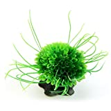 Vacally Aquarium Modeling Landscaping Plants Ornamental Aquatic Plastic Multicolored Ball Artificial Aquarium Water Plant Fish Tank Decorations