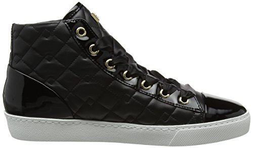 Hautes Baskets 0100 Femme 0360 4 Högl Noir schwarz 10 qwXAISnxng