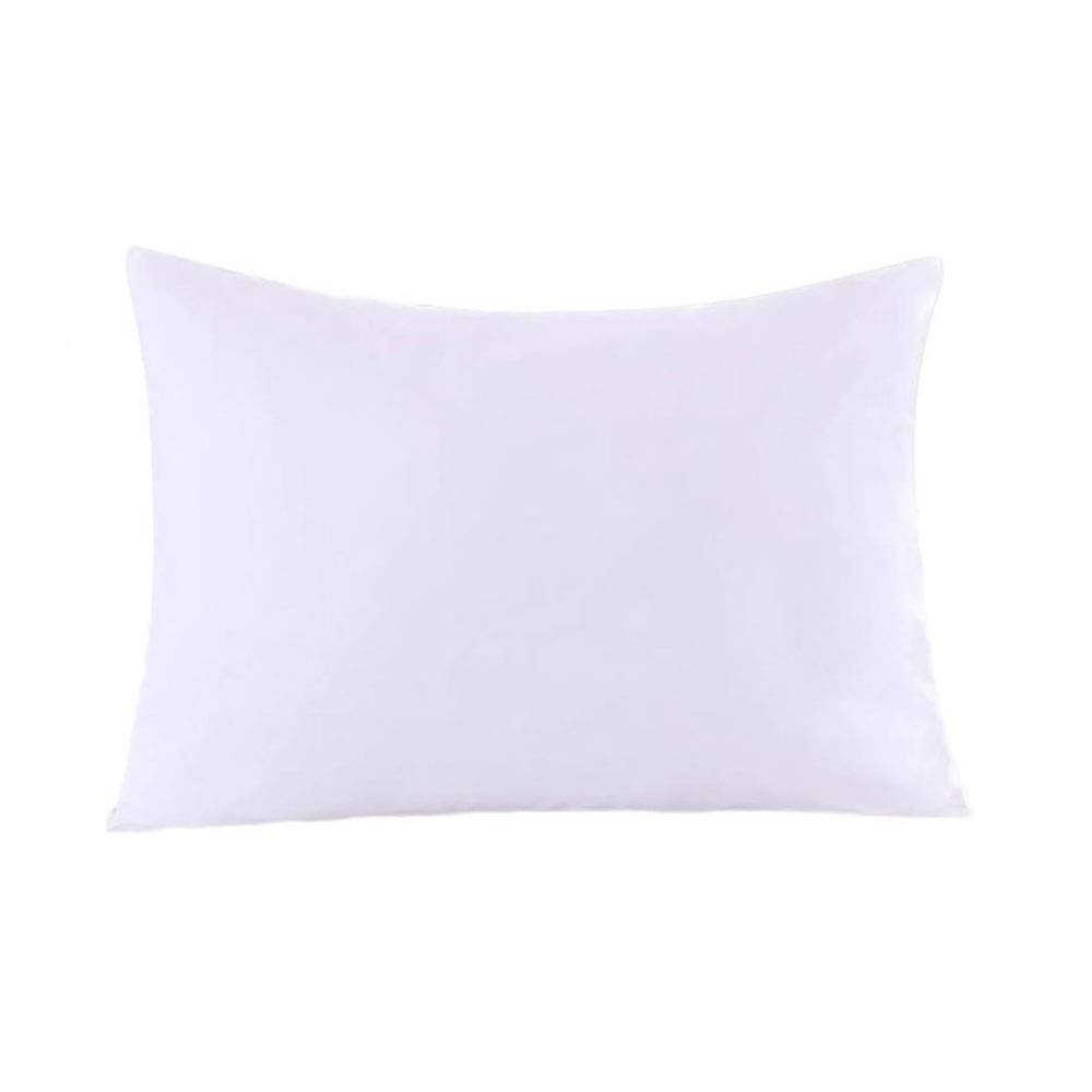 Royal Bedding 2 Pillow Protectors, Zippered Hypoallergenic Down Proof Pillow Covers, 600 Thread-Count - 100% Cotton Pillow Protector, White, Standard/Queen Size
