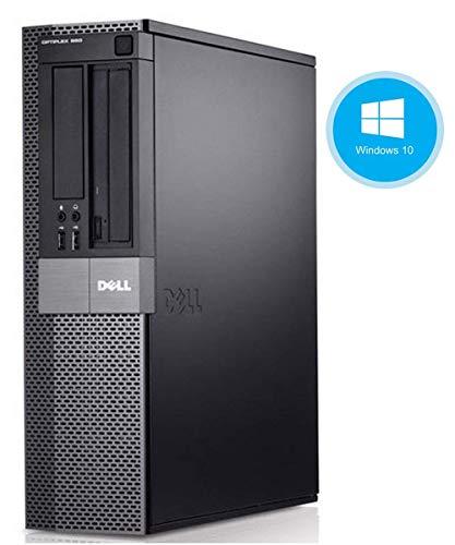 Dell Optiplex 980 Desktop Computer, i5-650 3.2GHz, 8GB, 500GB DVD, Windows 10 Pro (Certified Refurbished)
