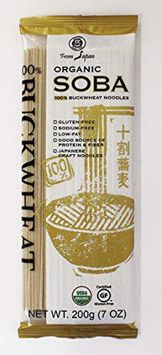 Muso From Japan Organic Japanese Noodles 100% Buckwheat Soba (Pack of 6) by Muso From Japan
