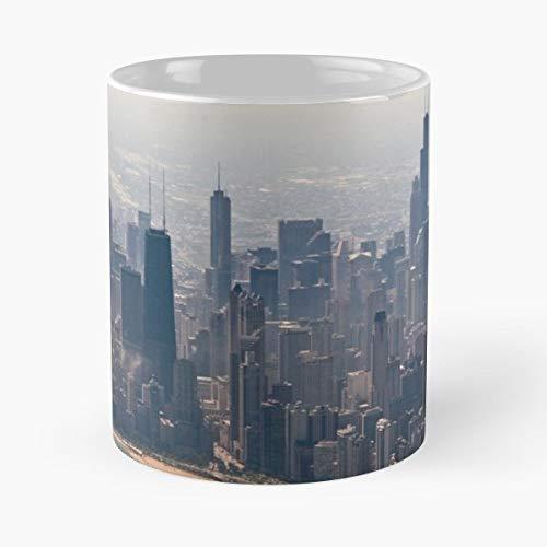 Printed Ceramic Coffee Tea Cup Gift Airborne 11 ounce mug