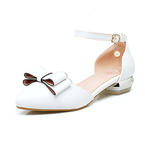 Femme ASL05108 Sandales Blanc Compensées BalaMasa aXR7Bxqwn