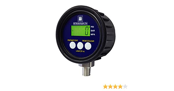 SSI Technologies MG1 9V Digital Pressure Gauge Range 0-5000 PSI