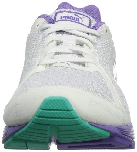 Puma Descendant Weiß Femme Blanc V1 white aged De 5 Wn's Extérieurs Chaussures 02 Cassé Sports Silver Haawqr