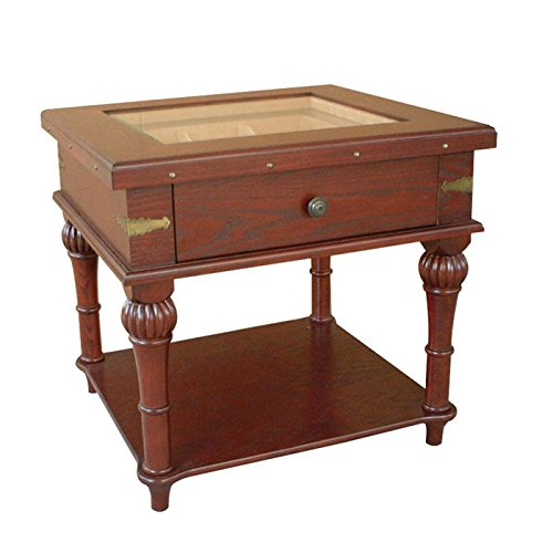 Scottsdale Glass-Top End Table Humidor (300 - Fashion Scottsdale