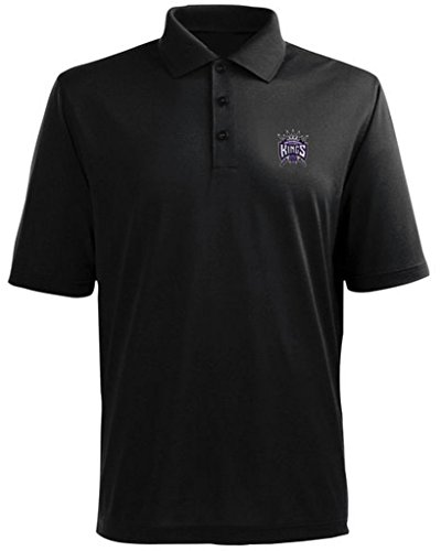 Majestic SACRAMENTO KINGS NBA POLO GOLF SHIRT BIG & TALL SIZES (3XL) by Majestic