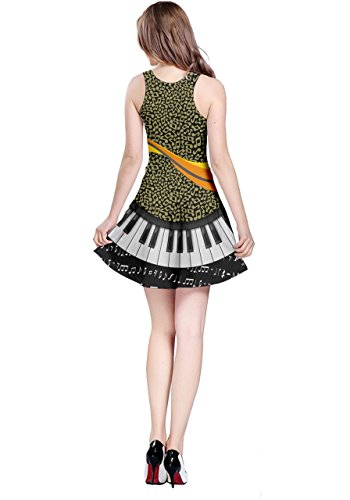 Clef Sleeveless CowCow Music Treble Music Note Notes Womens Dress Full vqfaawxpF