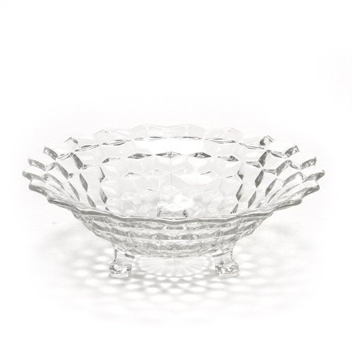 Sterling Footed Bowl - American by Fostoria, Glass Bowl, Footed
