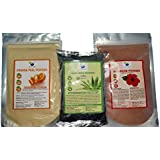 QYKKARE Skin Whitening and Brightening Combo of 3 for All Skin Types (100 gm X 3)