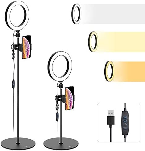 Ring Light Stand Phone Holder product image