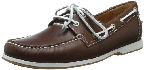 ECCO Mens Ellery Boat Shoe