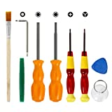 Kupton Nintendo Screwdriver Triwing Professional Full Tool Kit for Nintendo Switch and other Nintendo Products, Security Screw Driver Game Bit Set