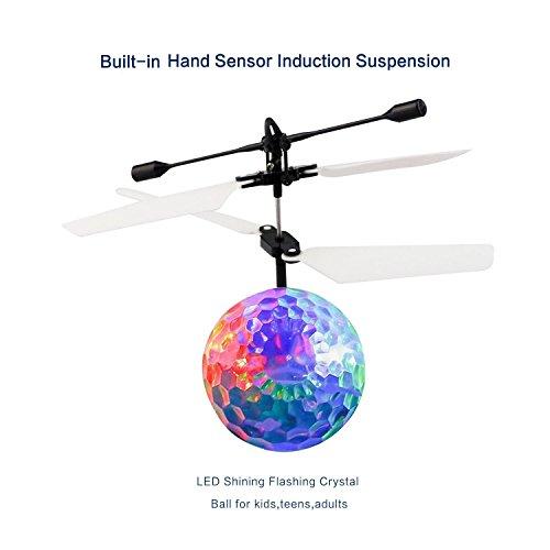 RC Bola Voladora ,Niños voladora Juguetes ,Drone HelicóPtero Bola de vuelo Built-in Shinning Iluminación LED para Niños RC Mini flying ball - RC Juguete ...