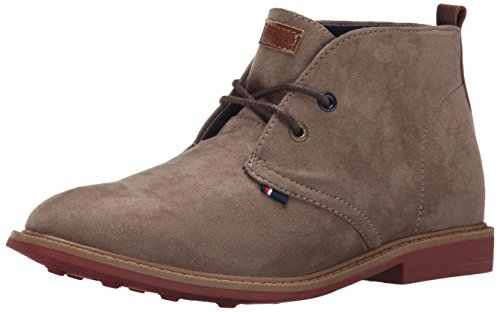 Tommy Hilfiger Kids Michael Boy Chukka Boot ,Taupe,1 M US Li