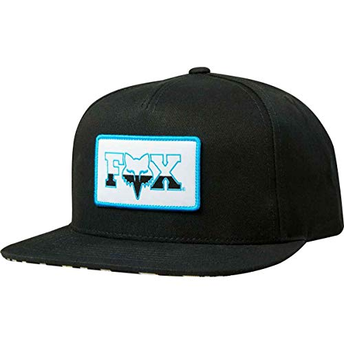 Fox Racing Vegas Snapback Hat - 23949 (Black - - Racing Hat Print Fox