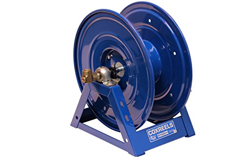 Fuel Hose Reel - Coxreels 1125-4-100 Steel Hand Crank Hose Reel, 1/2
