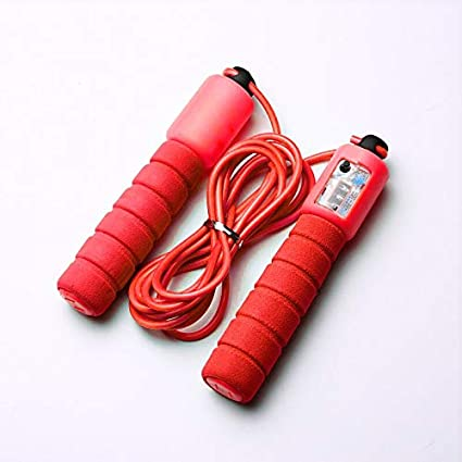 New Light Weight Skipping Rope Adjustable Jump Ropes with Counter for Fitness
