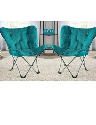 Butterfly Chair Base - Pack of 2 Teal Mainstay Butterfly Chair