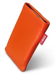 fitBAG Beat Naranja Funda para Acer W4. Piel napa de calidad superior con forro de microfibra para la limpieza de pantalla