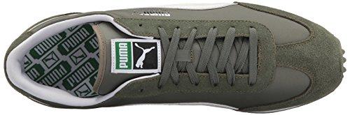 Puma Wervelwind Klassieke Mode Sneaker Agave Groen-puma Wit