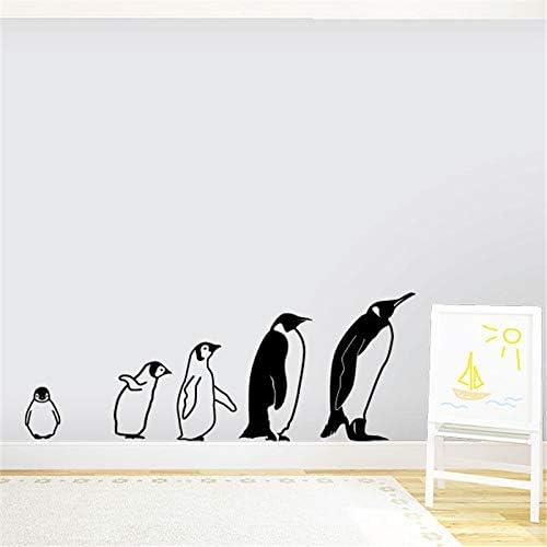 ONETOTOP El Pingüino Familia Tatuajes de Pared Bebé Animal Vinilo ...