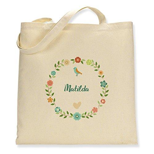 Bag Sided Canvas Tote Floral Single Matilda tA1AP