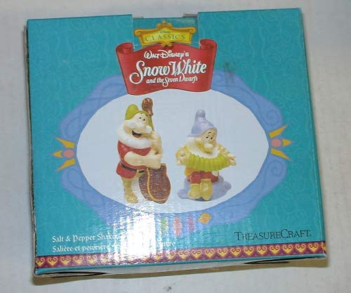 Scrunchie Peppers (Vintage Disney Snow White and the Seven Dwarfs Salt & Pepper Shakers)