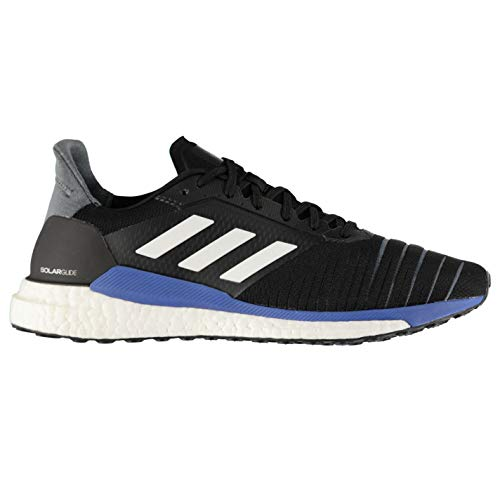 Adidas Men Solar Glide M, CORE Black/Footwear White/HIRE Blue CORE BLACK/FOOTWEAR WHITE/HIRE BLUE