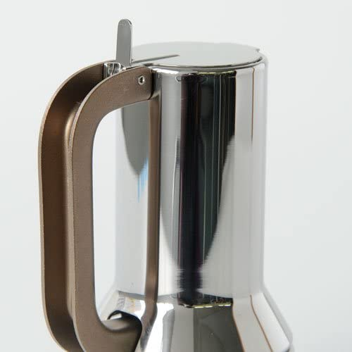Alessi 9090/1 - Cafetera Italiana de Acero Inoxidable Brillo 18/10: Richard Sapper: Amazon.es: Hogar