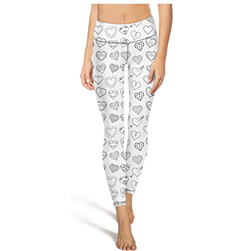 rftgjyj Heart Bear Women Fashion Yoga Leggings Runners Super Comfy Yoga Pants for Women