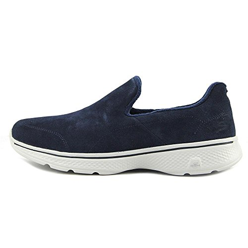 Skechers GoWalk 4 - Capacity Men Round Toe Synthetic Walking Shoe Navy/Gray zKgpetAbS