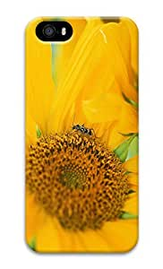 Personalized iPhone 5 3D Custom Case Sunflower01