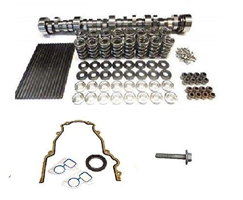 Brian Tooley BTR Stage 3 Naturally Aspirated Cam LS1 LS6 LS2 5.7 6.0 Camshaft, Spring Set, Chromoly Pushrods and Gasket Kit (Camshaft, Springs with Steel Retainers, Gasket -