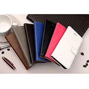 QJM Solid Color Special Design Full Body Cases for iPhone 6 (Assorted Color) , Blue