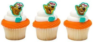 Scooby Doo Cupcake Rings - 24 ct