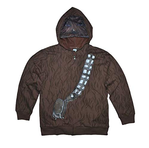 Disney Star Wars Little & Big Boys Chewbacca Character Hoodie (XS (6/7)) -