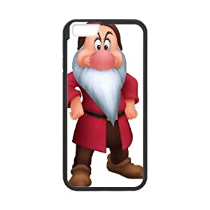 iPhone6 Plus 5.5 inch Phone Case Black Disney Snow White and the Seven Dwarfs Character Grumpy ES3TY7866344