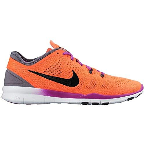Nike Free TR 5.0 Fit 5 - Zapatillas Mujer Morado (Vivid Purple/black/fuchsia Glow/copa)