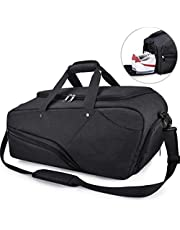Gym Sports Duffle Bag with Shoes Compartment Waterproof Large Travel Duffel Bags