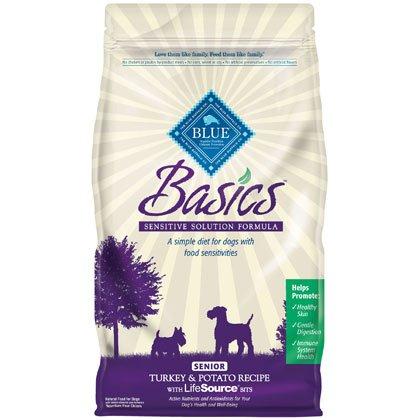Blue Buffalo Basics Senior Turkey and Potato Recipe – 4 lb bag, My Pet Supplies