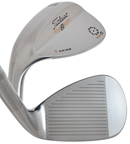 Titleist Vokey SM5 Tour Chrome Wedge Left 58 7 True Temper Dynamic Gold Steel Wedge by Titleist