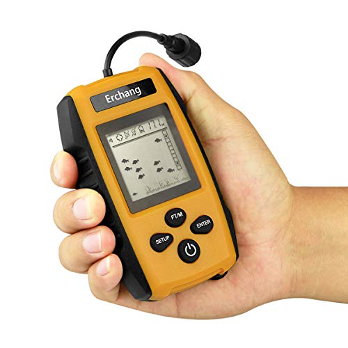 Portable Fish Finder,Handheld Depth Finder with Wired for sale  Delivered anywhere in USA