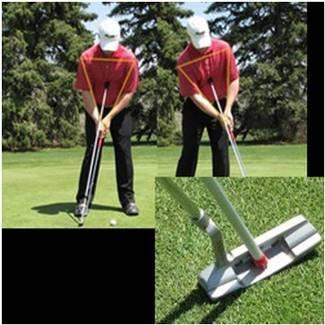 Masters Eyeline Golf - 振り子パッティングロッド   B0059S7VCS
