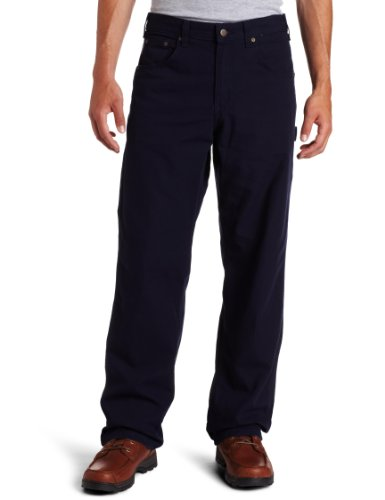 Carhartt Men's Loose Fit Canvas Carpenter Five Pocket B159,Navy,44 x 30 by Carhartt
