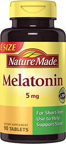 Nature Made Melatonin Tablets, 5 Mg, 90 Count