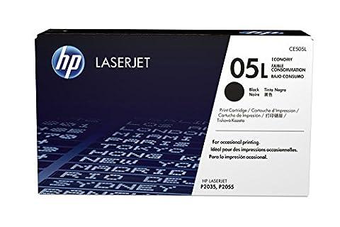HP 05L (CE505A) Black Economy Original LaserJet Toner Cartridge DISCONTINUED BY MANUFACTURER (Hp 05a Cartridge)