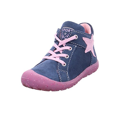 Lurchi Unisex-Kinder Goldy Stiefel Blau (Jeans Rose)
