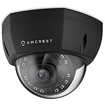 2-PACK-Amcrest IP3M-956EB ProHD POE Vandal Dome Surveillance Security Cam BLACK
